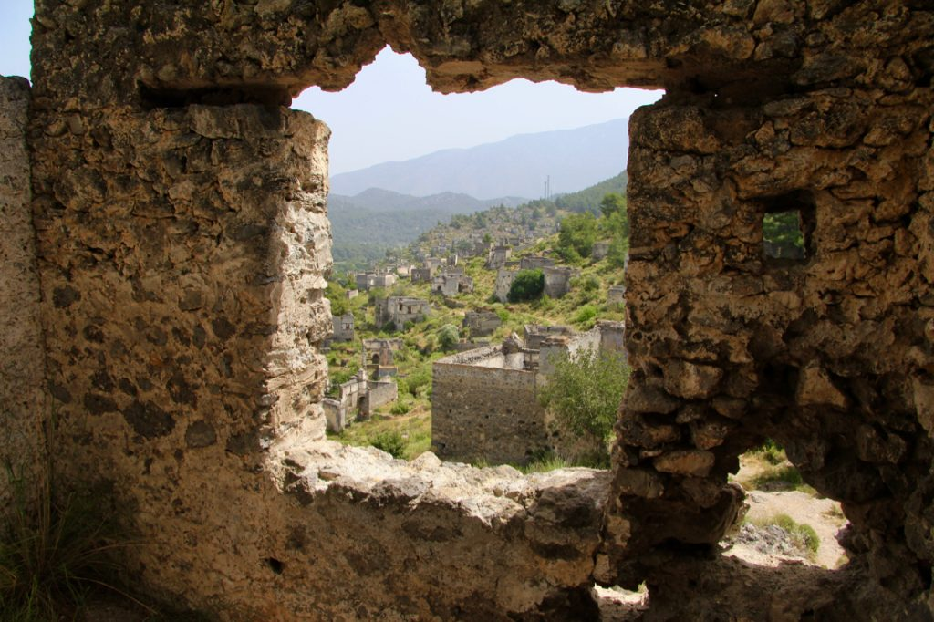Empty Window, Kaya Koy, Ghost Village, Turkey