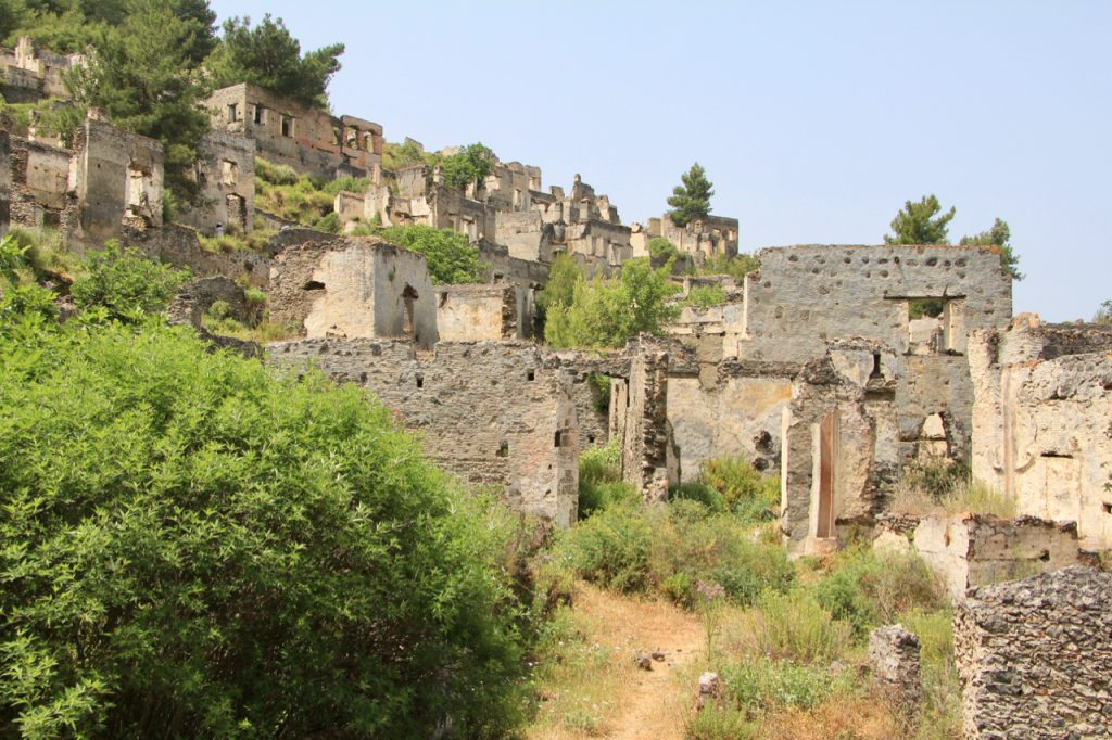 Empty Houses, Kaya Koy, Ghost Village, Turkey