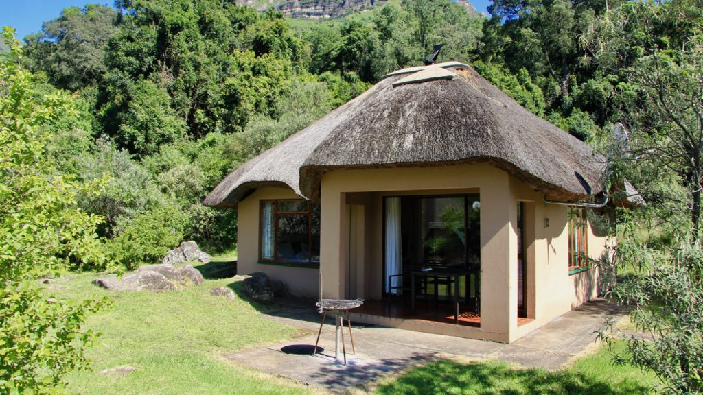Cottage at Thendele in the Royal Natal Park