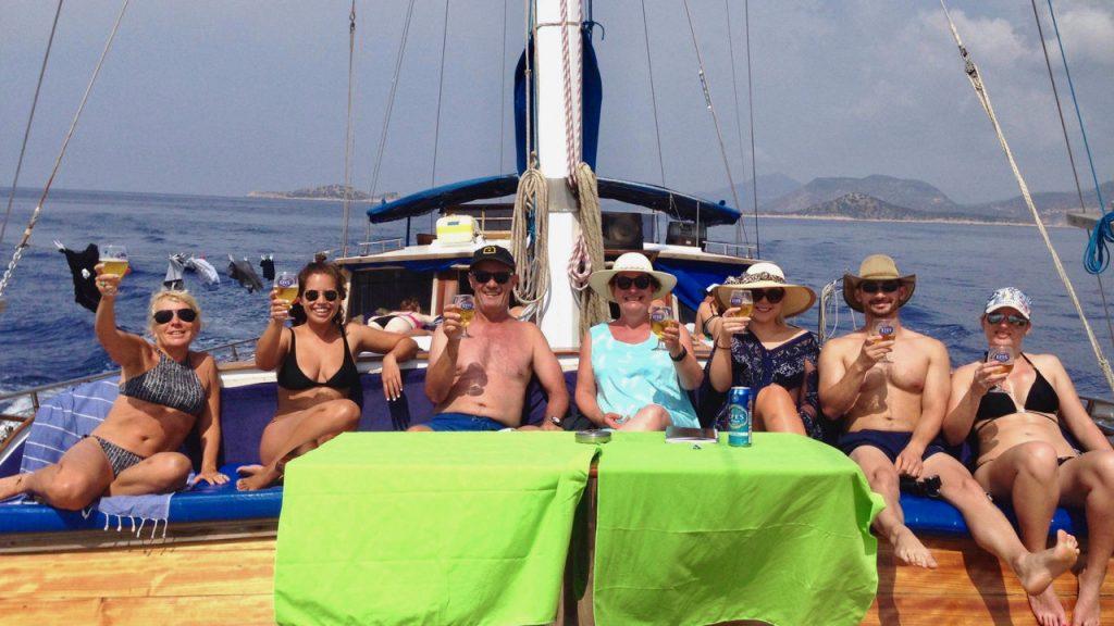 Gulet cruising life, Blue Cruise the Turkish Aegean