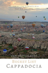 Hot Air Balloons Cappadocia Pinterest