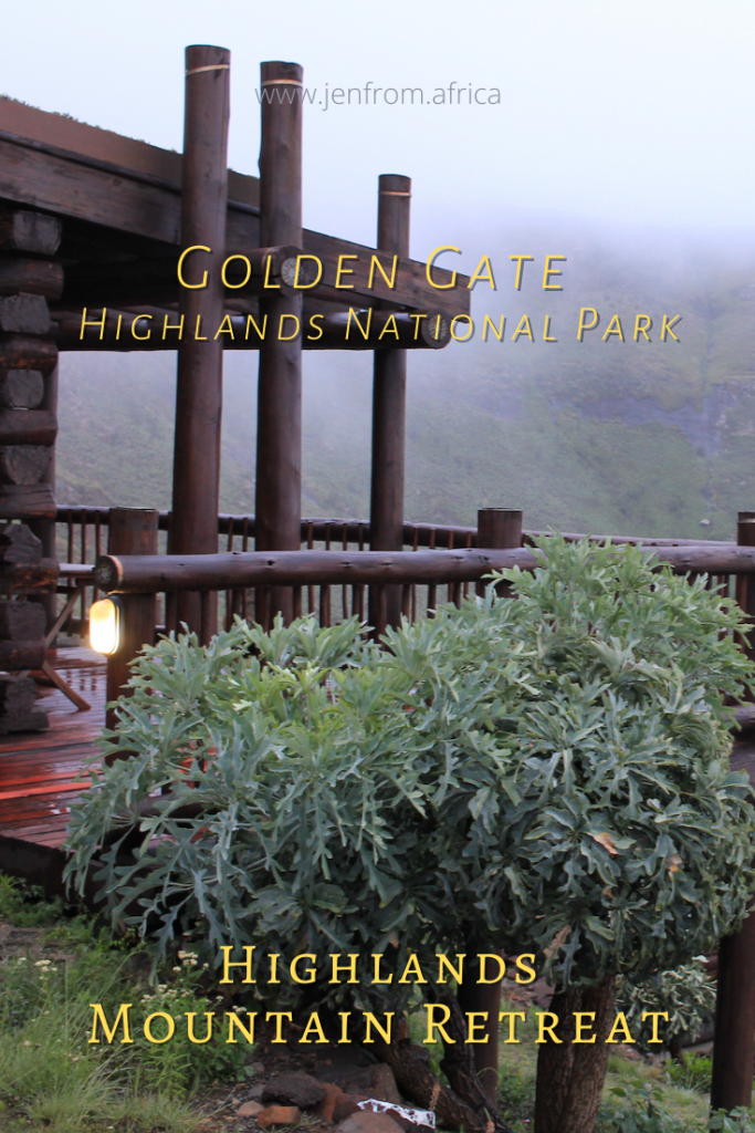 Golden Gate Highlands National Park Pin3