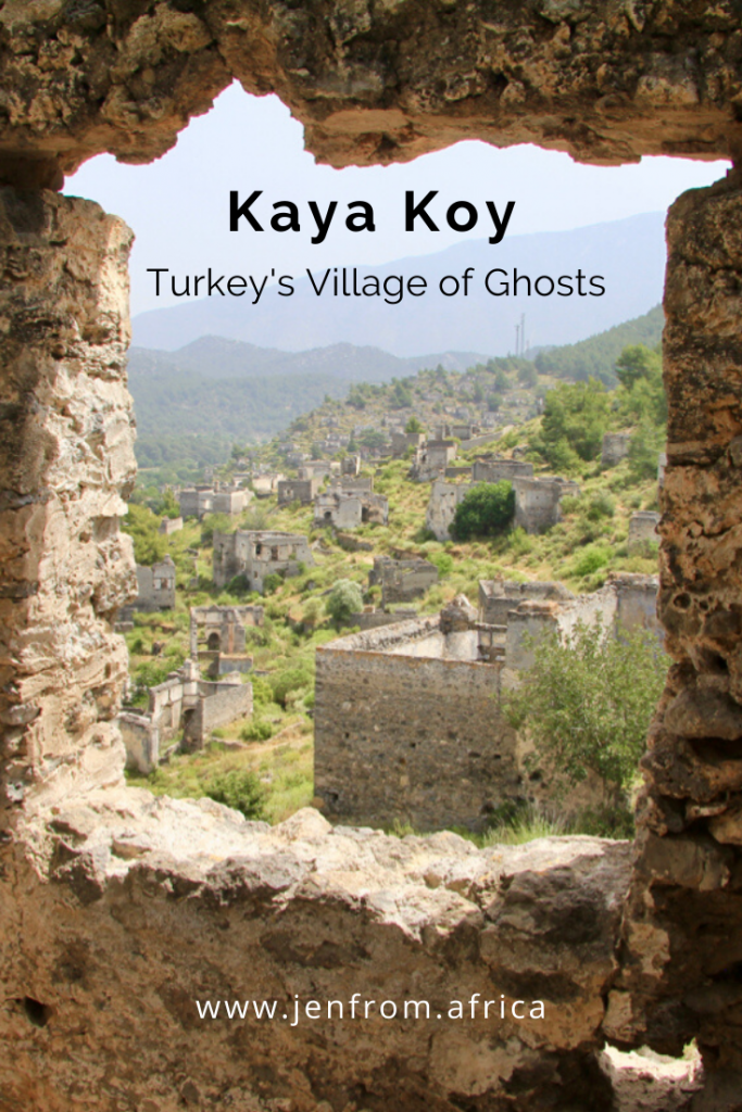 Kaya Koy Turkey Pinterest Pin