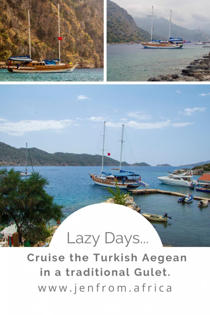 Blue Cruise the Turkish Aegean Pin1