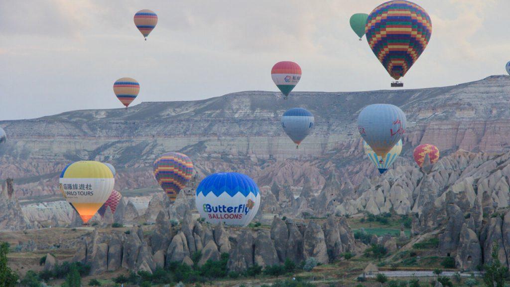 Skimming the surface of Cappadocia